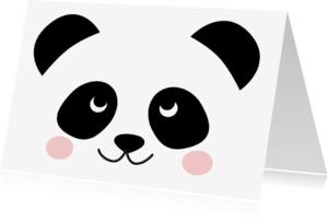 Zomaar kaarten - Zomaar kaart Panda