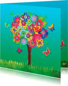 Zomaar kaarten - Zomaar kaarten Vlinderboom PA