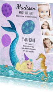 Kinderfeestjes - Zwemfeestje zeemeermin