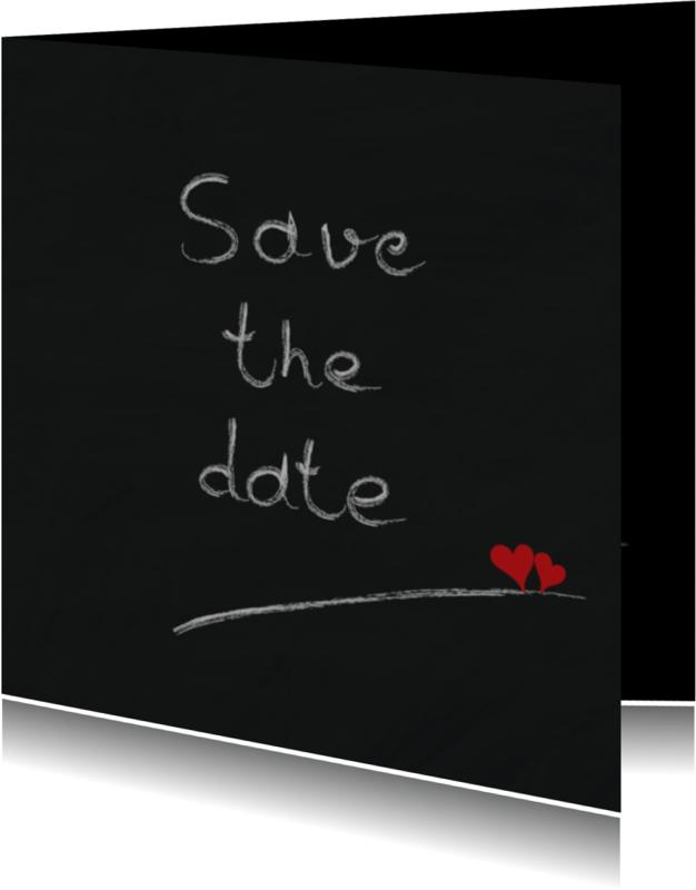 Trouwkaarten - Trouwkaarten Save the date Y