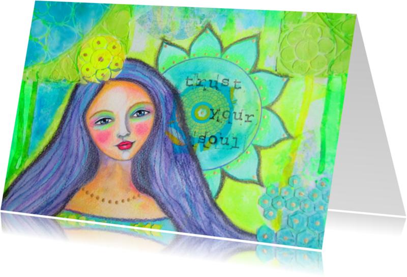 Religie kaarten - Trust your soul