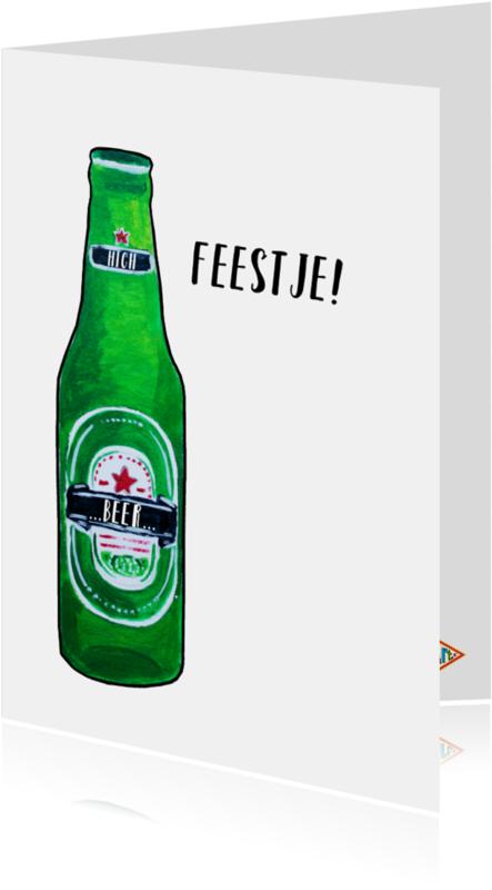 Uitnodigingen - Uitnodiging High Beer PA