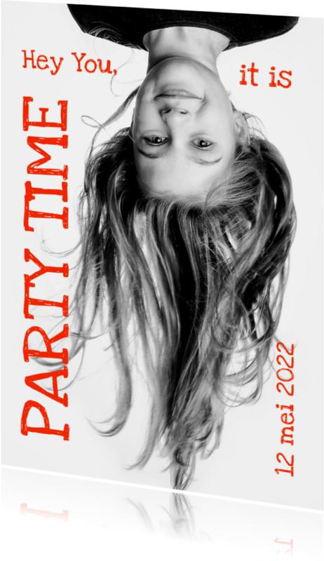 Kinderfeestjes - Uitnodiging Magazine Cover 5 - OT
