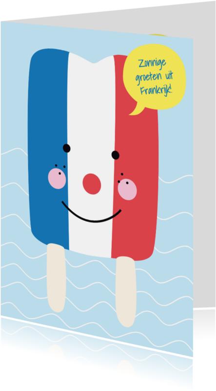 Vakantiekaarten - Vakantie-Groeten Frankrijk-HK