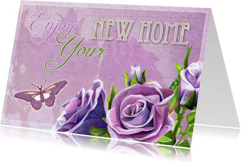 Verhuiskaarten - Verhuiskaart - Enjoy Your New Home