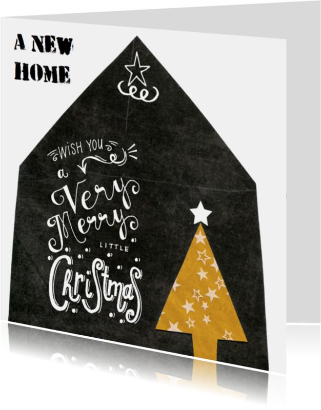 Kerstkaarten - verhuiskaart kerst