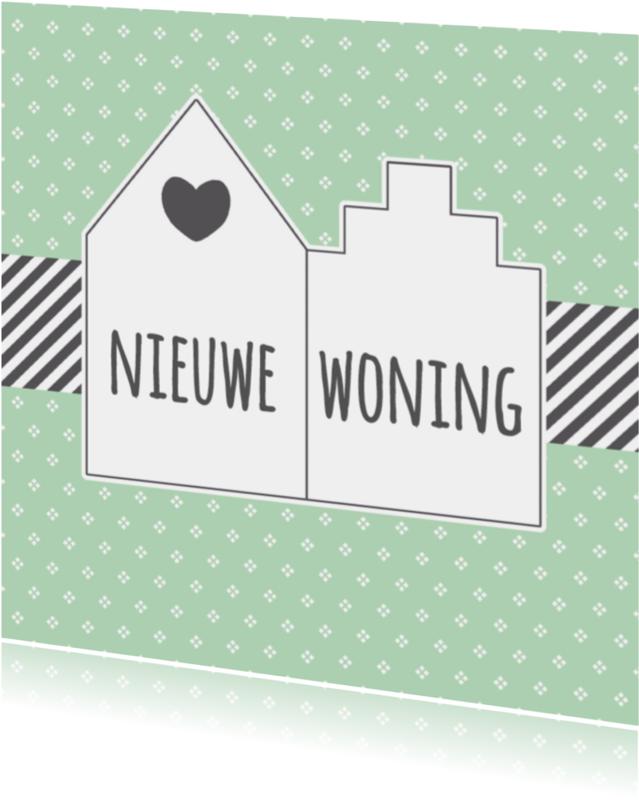 Verhuiskaarten - Verhuiskaart Nieuwe Woning - W