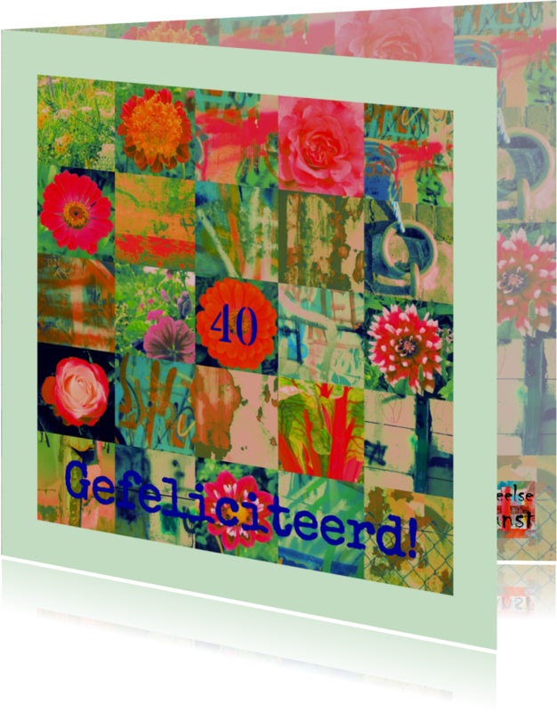 Verjaardagskaarten - Verjaardag geluk is een kaart IW