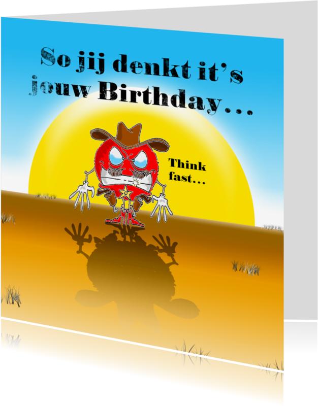 Verjaardagskaarten - Verjaardagskaart jouw Birthday