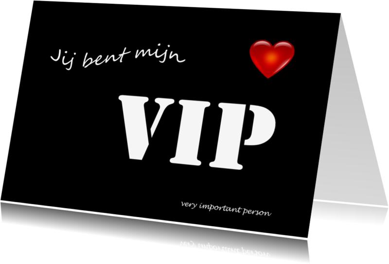 Liefde kaarten - VIP