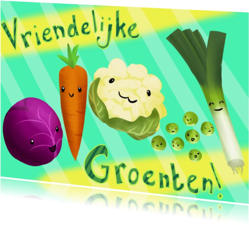 Zomaar kaarten - Vriendelijke Groenten