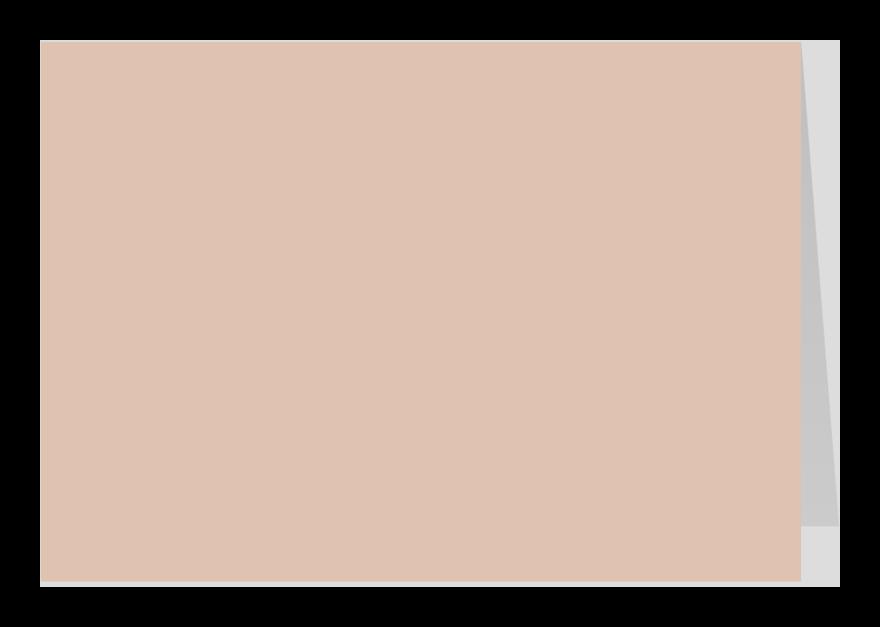 Zomaar kaarten - Zilver roze dubbel liggend