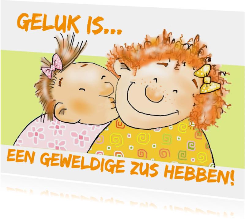 Zomaar kaarten - Zomaar geweldige zus!