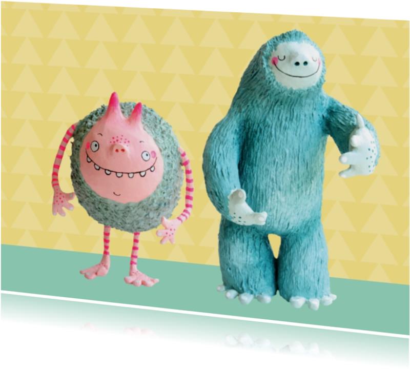 Zomaar kaarten - Zomaar Twee monsters